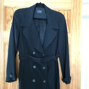 Trench coat style dress